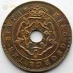 Южная Родезия 1951 1 пенни Георг VI
