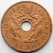 Родезия и Ньясаленд 1955 1 пенни