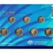 Австралия 2018 набор 7 монет Игры содружества