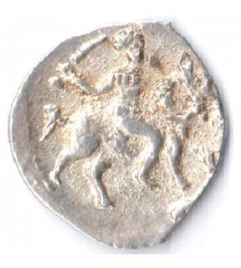 Россия 1533-1584 денежка Иван IV (лот №8)
