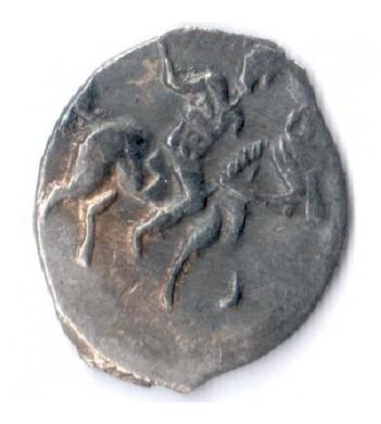 Россия 1533-1584 денежка Иван IV (лот №10)