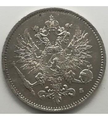Финляндия 1913 25 пенни (серебро)