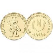 10 рублей 2018 Универсиада Красноярск (2 монеты)