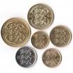 Эстония 1992-2006 набор 6 монет