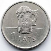 Латвия 2011 1 лат Пивная кружка