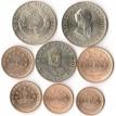 Таджикистан 2001-2006 набор 8 монет