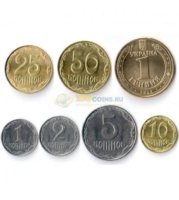 Украина набор 7 монет 2012-2016