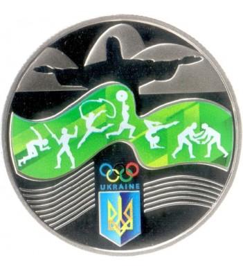 Украина 2016 2 гривны XXXI Олимпийские Игры в Бразилии