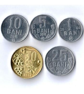 Молдавия Набор 5 разменных монет