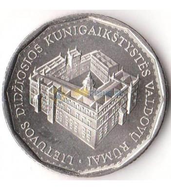 Литва 2005 1 лит Дворец правителей княжества Литовского