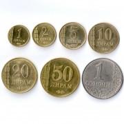 Таджикистан 2011 Набор 7 монет