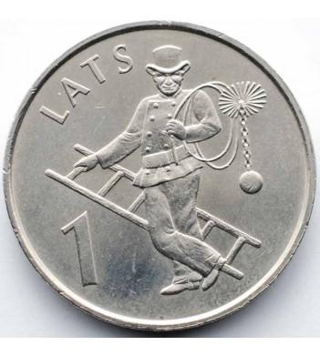 Латвия 2008 1 лат Трубочист