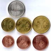 Беларусь 2016 Годовой набор 7 монет 2009