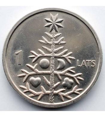 Латвия 2009 1 лат Елка