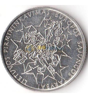 Литва 2013 1 лит Председательство в Совете Евросоюза