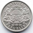 Латвия 2009 1 лат Кольцо