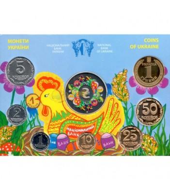 Украина 2014 официальный годовой набор монет (буклет)