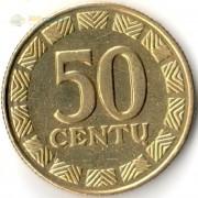 Литва 1997-2014 50 центов