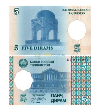 Таджикистан бона 1999 5 дирам