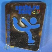 Значок Сочи 2014 Пиктограммы Фигурное катание на коньках