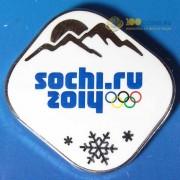 Значок Сочи 2014 Олимпийские зимние игры 3 вариант