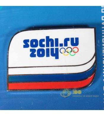 Значок Сочи 2014 Олимпийские зимние игры 1 вариант