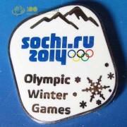 Значок Сочи 2014 Олимпийские зимние игры 2 вариант