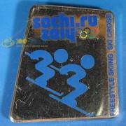 Значок Сочи 2014 Пиктограммы Фристайл - Ски-росс